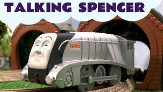 Thomas And Friends Trackmaster Talking Spencer kids Toy Train Set Thomas The Tank Engine