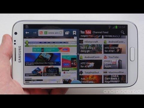 Galaxy Note 2 multi-window