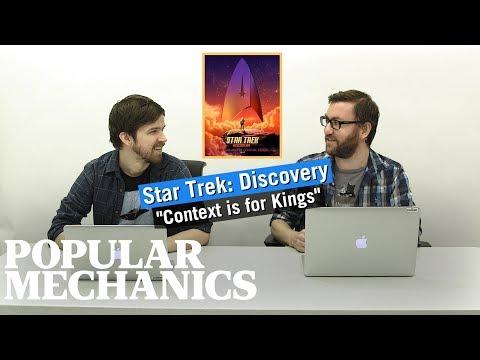 Star Trek: Discovery -- Ep. 3 Review | PopMech