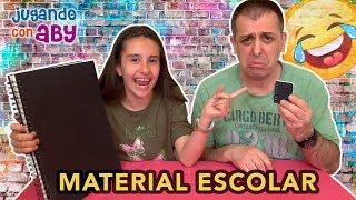 MATERIAL ESCOLAR Challenge! Grande vs Pequeño