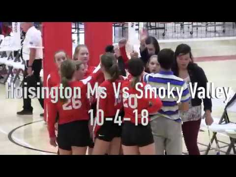 Hoisington Middle School vs Smoky Valley Middle School Volleyball