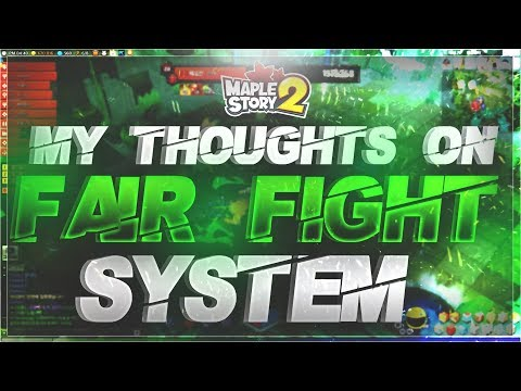 My Thoughts on the Fair Fight System in MapleStory 2