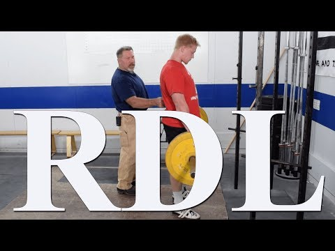 How to do the RDL (Romanian Deadlift) with Mark Rippetoe