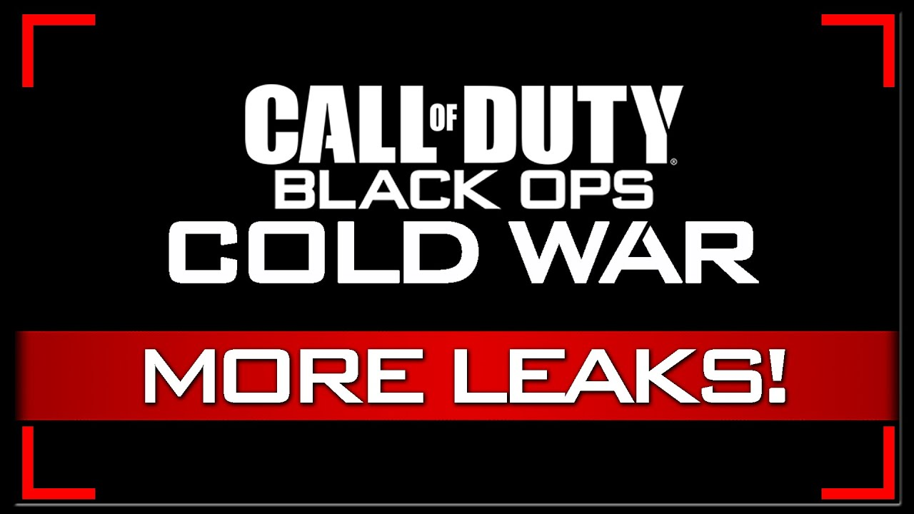 Cod 2020 Possible Reveal Release Dates Leaked Black Ops Cold