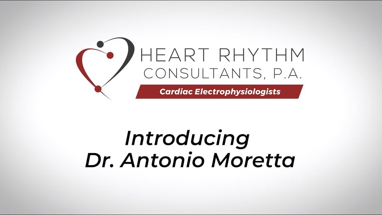 About Dr  Antonio Moretta - Board Certified in Cardiac