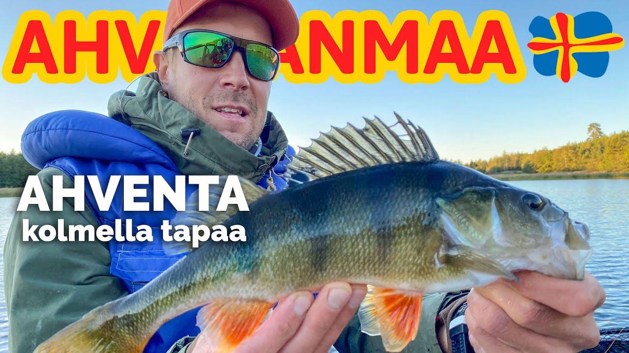 Ahvenen kalastus Ahvenanmaalla