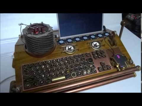 Diy Pc Steampunk Youtube