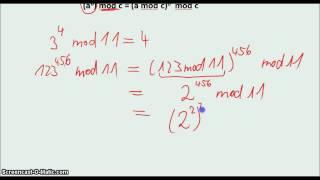Kryptologie -Potenz-Modulo-Rechnung