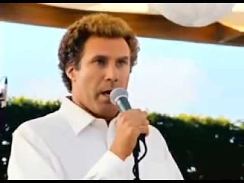 Will Ferrell Sings Por Ti Volare- Step Brothers