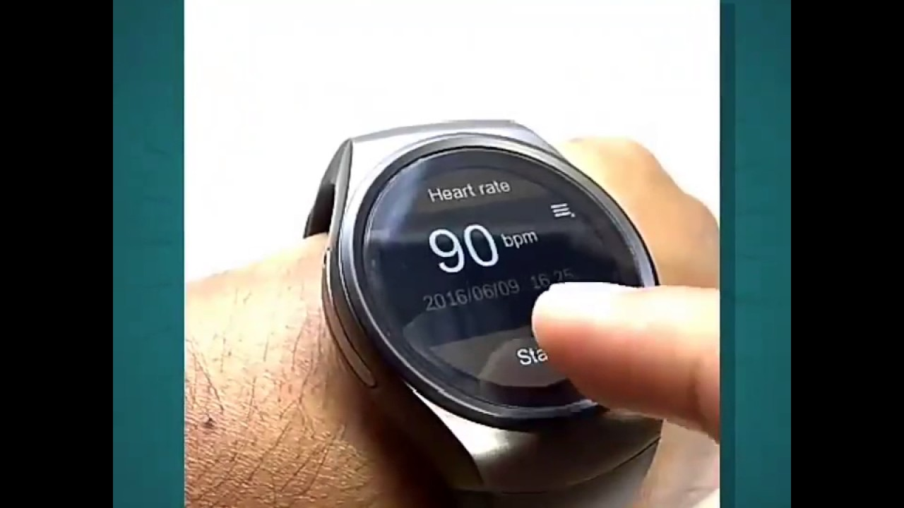 SmartWatch KW18 Black