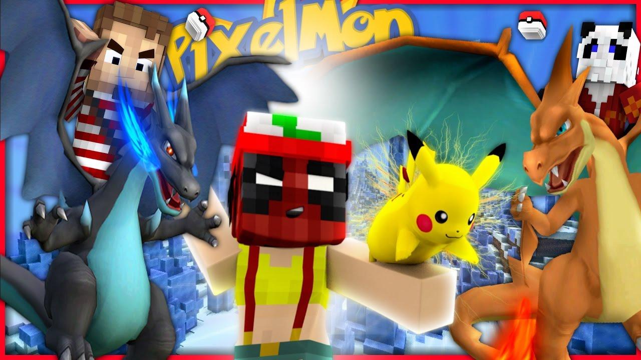 Minecraft Pixemon Deadpool Returns For Mega Charizard