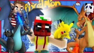 Minecraft Pixemon - DEADPOOL RETURNS FOR MEGA-CHARIZARD! (Minecraft Pokemon Episode 1)