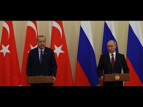 Cumhurbaşkanımız Erdoğan, Rusya Devlet Başkanı Putin ile ortak basın toplantısı düzenledi