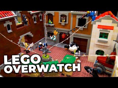 LEGO Overwatch Dorado City | BrickCon 2019