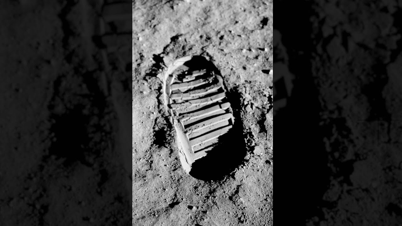 Footprints on The Moon Conspiracy