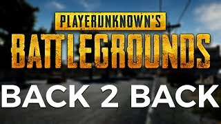 PUBG XBOX - Back to Back Duos Wins!