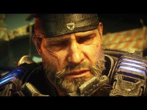 GEARS OF WAR 5 - Marcus Fenix Finds out about JD Fenix and DEL