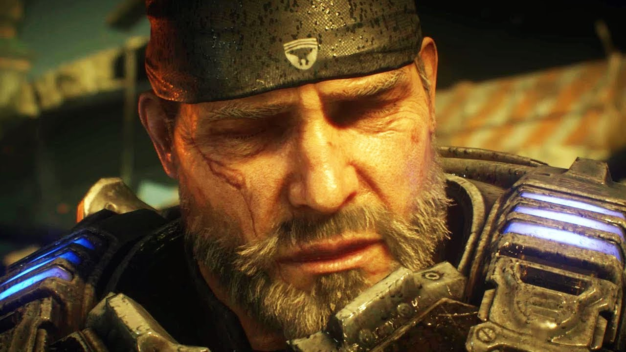 Gears Of War 5 Marcus Fenix Finds Out About Jd Fenix And Del