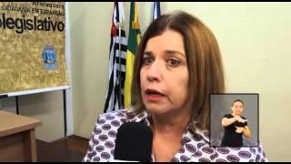 Jornal Acontece - Palestra Aposentadoria Escola do Legislativo LIBRAS