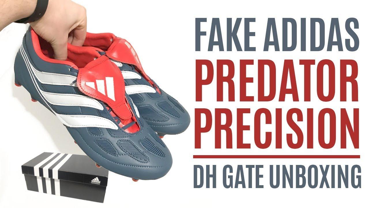 ae649358ff8 FAKE Adidas Predator Precision Remake - Unboxing