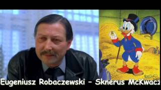 Polscy aktorzy dubbingowi: część pierwsza