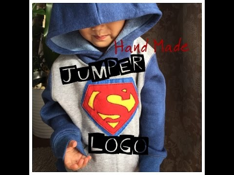Superman Logo -  Easy HandMade Jumper Logo!