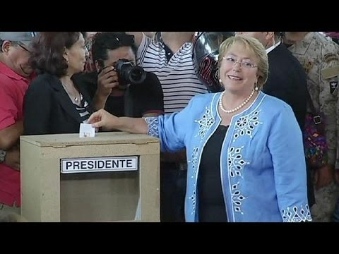 Socialist Michelle Bachelet takes Chile presidential with a landslide