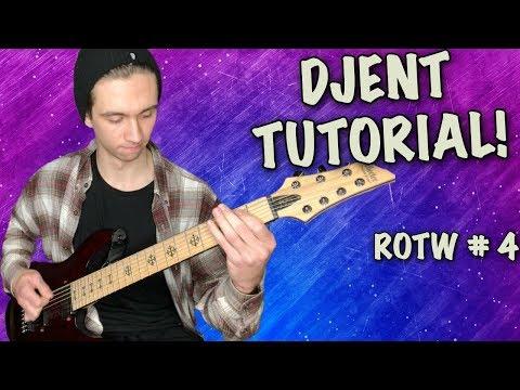 drop g djent tutorial!!! modern metal 7 string guitar riff of the week #4