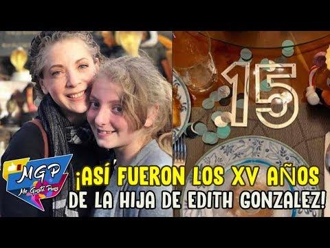 Así fueron los XV años de Constanza, hija de Edith González