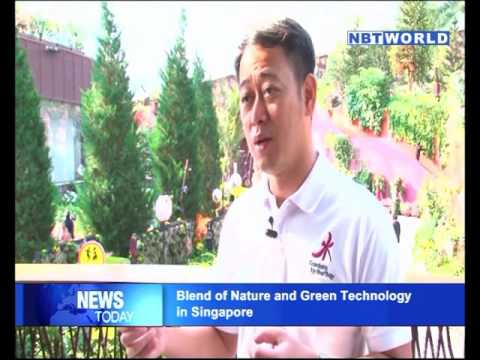 Blend of Nature and Green Technology in Singapore