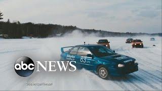 Ice Car Racing: Mad Max Meets The Revenant Meets NASCAR