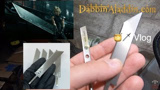 Cloud Strife Buster Sword (Final Fantasy 7), Grinders, Ashtrays, & Scales - Making Tiny Swords