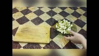 Как приготовить фруктовый салат из груши и яблока