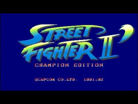 ARCADE - STREET FIGHTER II´ CHAMPION EDITION