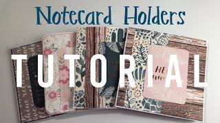 Notecard Holders  ✩ TUTORIAL ✩