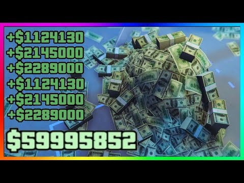 """GTA 5 Online - BEST SOLO """"UNLIMITED MONEY"""" METHOD - How To Make MILLIONS Fast Every Day! (GTA V)"""