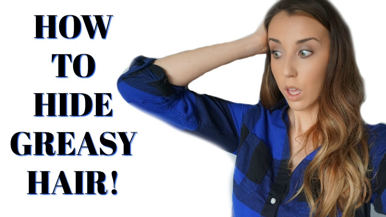 How To Hide Greasy Hair Easy Hairstyles For Dirty Hair How To Style A Headband Youtube