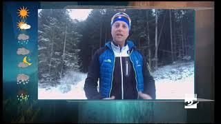Meteo, spruzzata di neve e poi perturbazioni