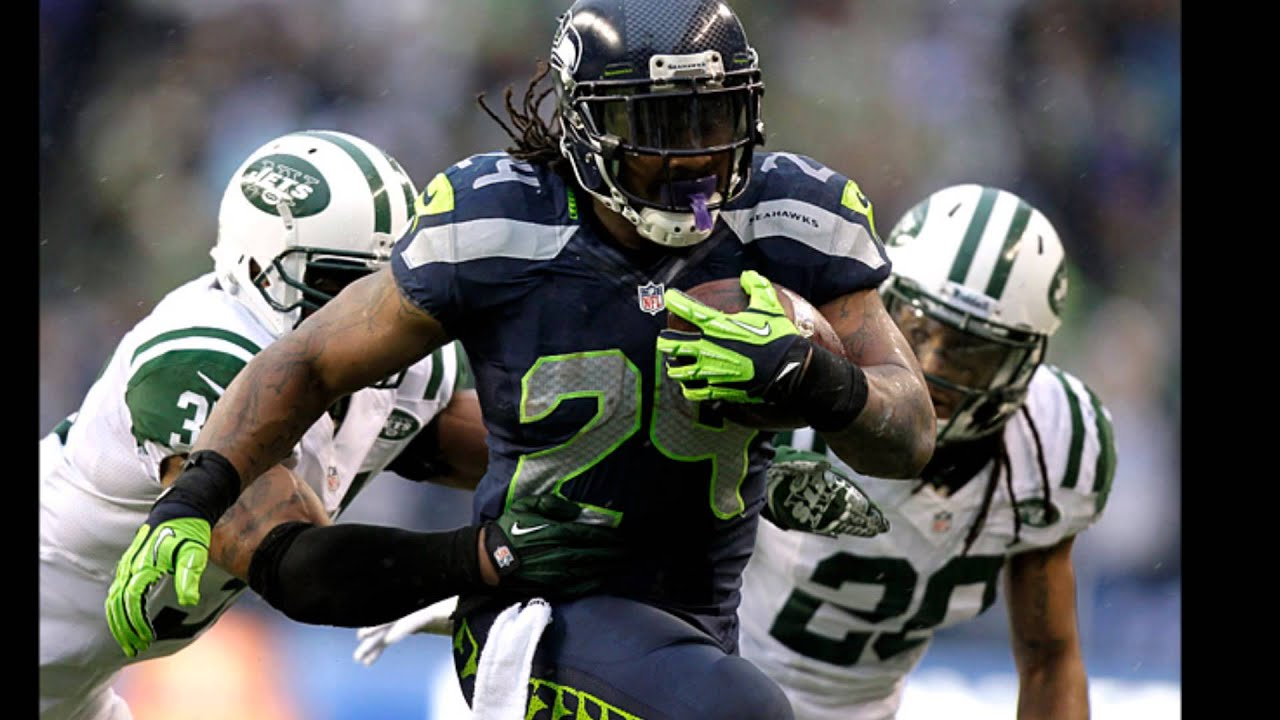 Marshawn Lynch Beast Mode >> Marshawn Lynch: BEAST MODE! - YouTube