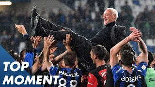 Atalanta Qualify for the Champions League for the First Time Ever!   Top Moment   Serie A