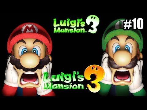 Luigi's Mansion 3 #10 — Сад Гигант {Switch} прохождение часть 10