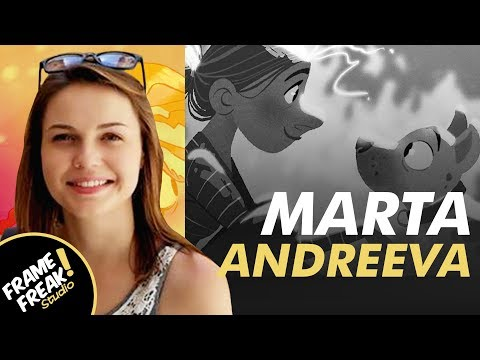 INTERVIEW W/ MARTA ANDREEVA: Character Design & Animation - The Creative Hustlers Show #42