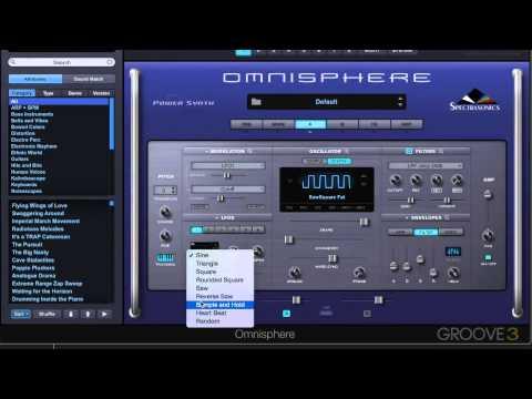 Omnisphere 2: Animating The Cutoff Filter Using An Lfo