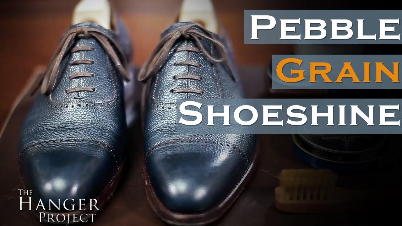 d206db959e0 Pebble Grain Shoe Shine | Kirby Allison's Hanger Project