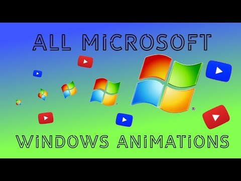 ALL MICROSOFT WINDOWS ANIMATIONS [1985 2018]