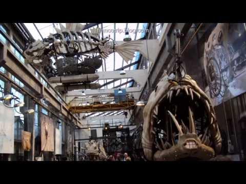 Les Machines de l ile de Nantes | France Sights | Trip | Tour | Travel