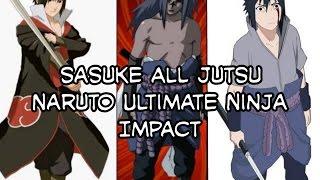 Naruto Ultimate Ninja Impact - Sasuke all jutsu mod texture VT4