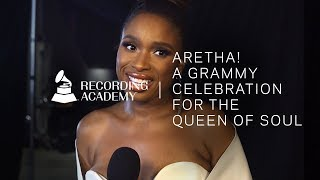 Jennifer Hudson Honors Aretha Franklin With Medley
