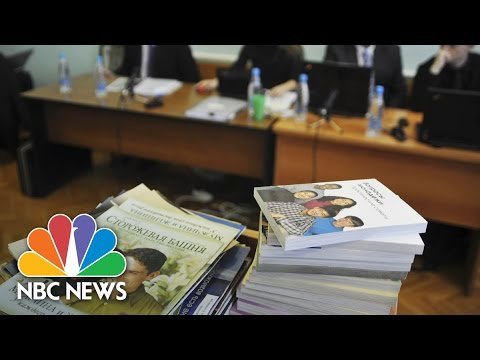Jehovah's Witnesses Banned In Russia For 'Extremist' Activity | NBC News