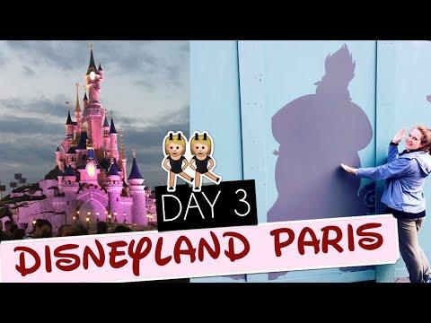 DISNEYLAND PARIS DAY 3: Magic Moments + Dreams! | Gillian At Home